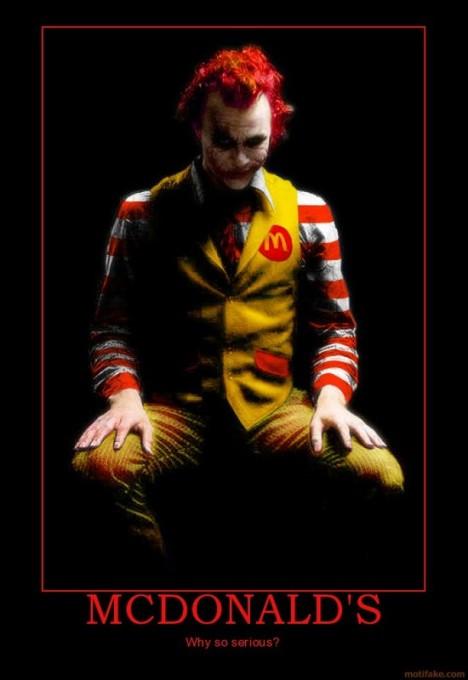Why so McDonalds?