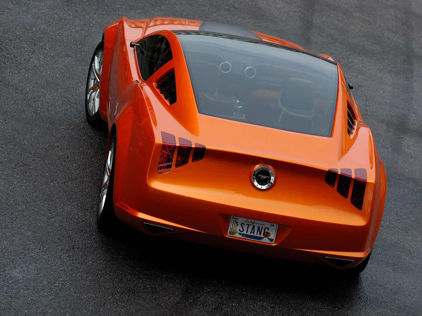 Ford Mustang Concept Car