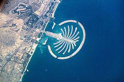 La isla Jumeirah Palm